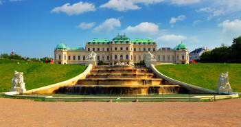 Wien Belvedere palasset