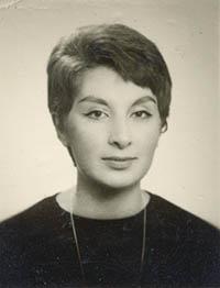 Tyrkiske Tülin i 1968.